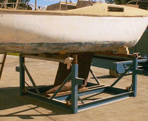 custom built yacht cradle 06
