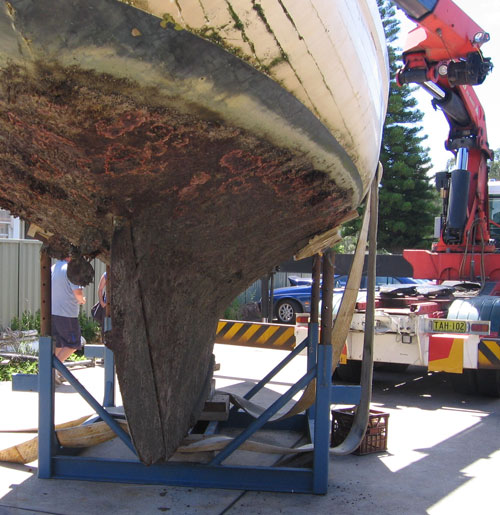 structural yacht repairs