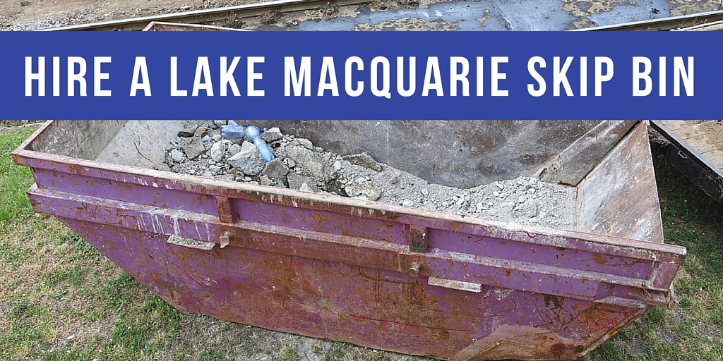 Hire a Lake Macquarie Skip Bin