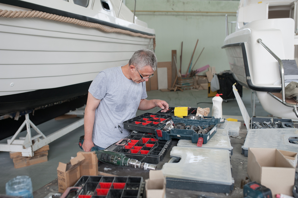 selecting boat building parts